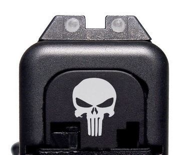Backplate Punisher Glock Gen 1-4